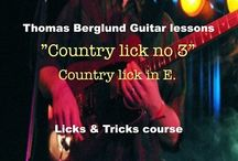 Lessons (various guitar courses) / Guitar lessons from my various guitar courses.