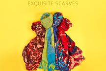 SCARFS / Wrap up your style with the latest ZEEN Scarves.  Website: zeenwoman.com