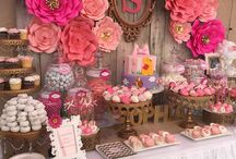 Rustic birthday party theme