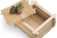 boxes, table organizer, etc