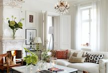 Neutral Interiors /   White,Taupe, Grey, Beige, Tan, Ivory and Cream;Soothing color palettes are anything but boring.