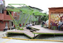 between buildings / wystawa