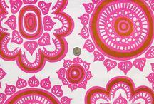 Beautiful fabrics and tekstiles
