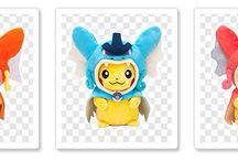 Pikachu Plushies Hiroshima / The Pokemon Center Official mascots in Hiroshima released in 2015