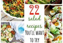 Yummy stuff-salads