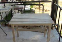 DIY PALET WOOD TABLE