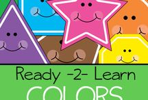 Teaching Shapes and Colors / Activities for teaching shapes and colors / by Julie Rudolph