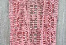 Waistcoat crocheted