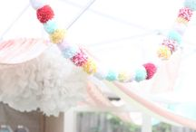 Polka Dot Party / A cute party theme for all ages, party decoration inspiration for a polka dot party