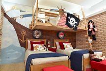 QUARTO DE MENINOS / Sugestões e ideias de decoração para quarto de meninos!