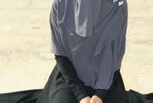 Niqabis  / Modesty is truly beautiful.