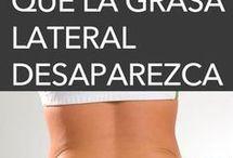 quitar grasa lateral.
