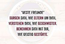 """Beste Freunde""- Zitate"