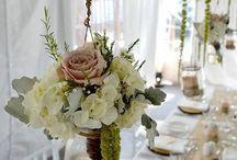 hanging floral decoration