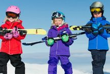 Skiing for Families / Info for skiing families from the best ski slopes, kid care and dining to the best discounts!