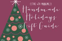 2014 Handmade Holidays Gift Guide / Join us for our 4th annual gift guide ALL week on ohsweetjoy.com! / by Kim Davis