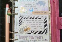 Planner/Bullet Journal/ Ideas / Creatively using a planner for ideas, idea pictures, DIY plans, future projects.