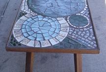 Mozaika na stolek