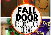 Classroom door decor / by Ruby Harbin Yarbrough