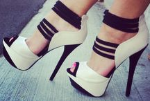 For the love of shoes!! / Give a girl the right shoes and She can conquer the world