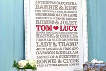 Wedding gift ideas / Wedding stuff / by Tiffany Alyce