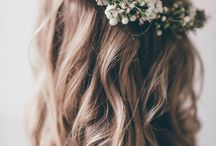 Tocados novia / Hairstyle y flores para tocados