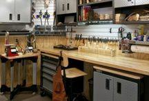 Werkstatt + Garage