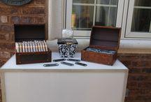21st Birthday Cigar Table