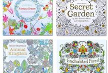 Magic Colouring Books Relieve Your Stress