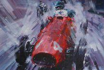 Old F1 Ferrari