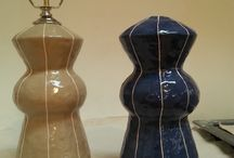 Artisan lamps and vases