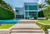 RENTED ~ 227 E Dilido Drive / AVAILABLE SEASONAL OR ANNUALLY FOR RENT. Newly Updated Contemporary 7 Beds+7.5 Baths Waterfront Estate. This spacious 2-level Villa has 7,210SF w/ nearly 3,500SF of Outdoor Roof-Top Deck & Entertainment area.Heated Infinity Pool w/ superb Boat Dockage+ 35 ' Jet Skis Lift. Modern luxury all in Glass with soaring ceilings,48X48 White Glass flooring, Interiors by Kartell & Artefacto w/ Elevator & Smart Home System | RENTED: $75,000/month