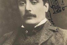 Giacomo Puccini / Giacomo Puccini (1858-1924), uno dei più grandi compositori italiani, soggiornò presso l'Hotel Mayer & Splendid nel 1891.