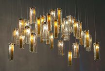 Glass Art Chandeliers / Glass Art Chandeliers are Custom modern lighting designs made by our Canadian designer.