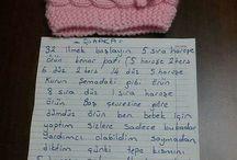 Bebek bere  , şapkalar