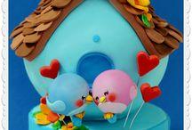 Torte casette   , cakes house