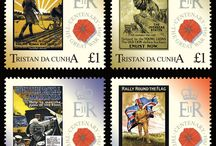 World War One stamps / Stamps issued during World War One, or those issued in more recent years to commemorate the conflict.