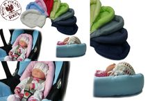 Sweet Baby head hugger give your baby best protection while traveling by car from Reindeer Leather​