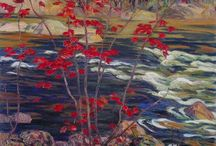 Painting / Inspired by Tom Thomson and the Group of Seven, Canadian artists / by Bill Susie