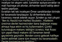Hz. Ebubekir (r.a)