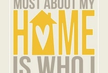 For the Home / by Melissa Mosher