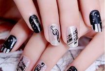 Nails and makeup