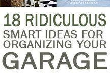 Garage organising