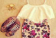 Cute outfits / by Faith W.