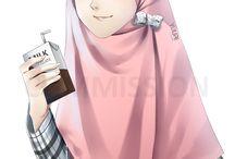 "kartun muslimah"" Alifa"""