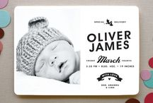 Photography: Birth Announcements / by Nicole