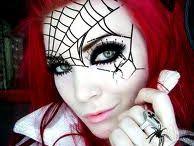 halloween geister makeup