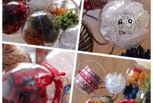 Natale / Navidad 2015 / Tutti i nostri prodotti interamente #handmade per addobbare questo Natale con stile!