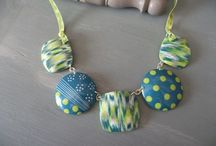 collier fimo / by Maryvonne Kottelat