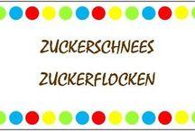 Zuckerschnees Zuckerflocken / Hier findet ihr alle Blogs, denen ich folge :-)